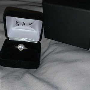 Kay Jewelers Heart Pendant Ring